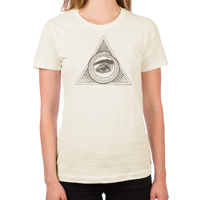 Eye Ouroboros Women's Fitted T-Shirt