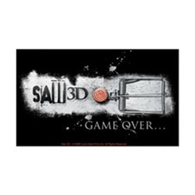 Saw Game Over Sticker