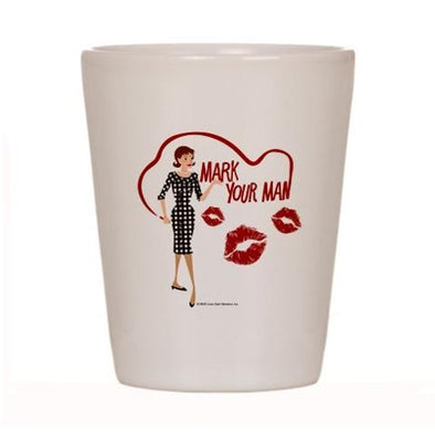 Mad Men Peggy Shot Glass