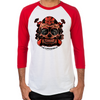 Skull TNT Baseball T-Shirt