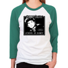 Dirty Dancing Johnny Castle School of Dance Women's Baseball T-Shirt