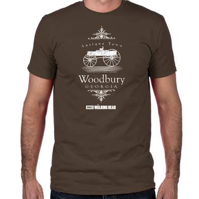 Woodbury Georgia Fitted T-Shirt