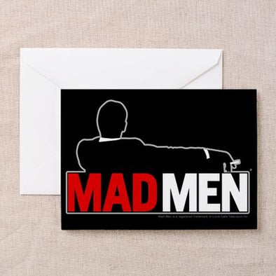 Mad Men Truth Lies Card Greeting Card