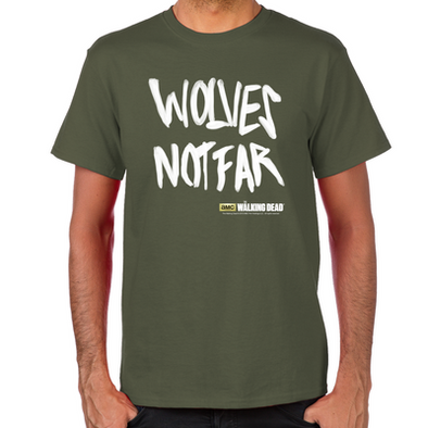 Wolves Not Far Men's T-Shirt