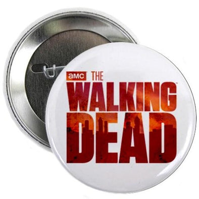 "The Walking Dead Blood Logo 2.25"" Button"