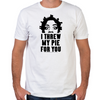 Crazy Eyes Threw My Pie Fitted T-Shirt