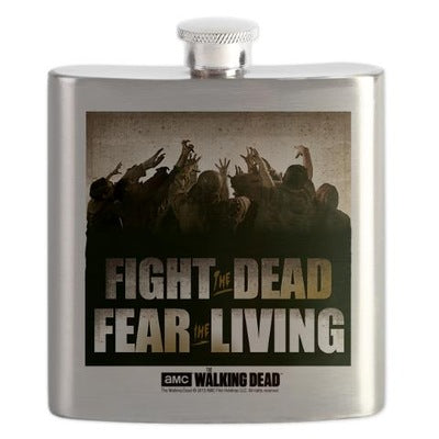 The Fight the Dead, Fear the Living Flask