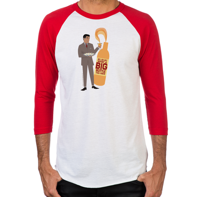 Mad Men Salvatore Men's Baseball T-Shirts