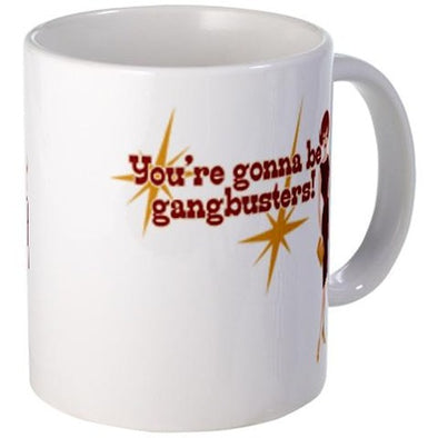 Mad Men Gangbusters Mug