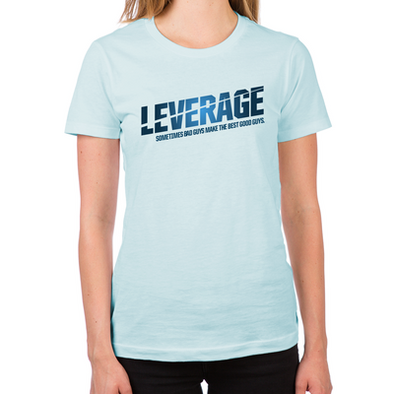 Leverage Logo Women's Fitted T-Shirt