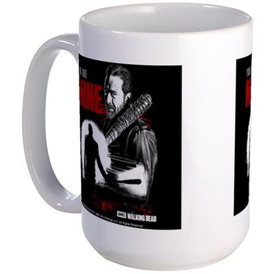 Negan You Are Mine Large Mug