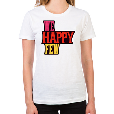 We Happy Few Women's Fitted T-Shirt