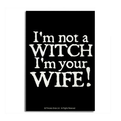 Witch Wife Magnet