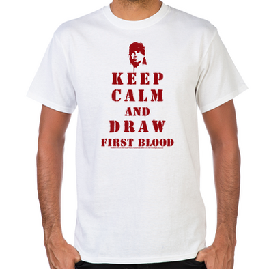 Keep Calm Rambo T-Shirt