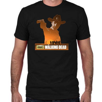 Rick Grimes Sheriff Fitted T-Shirt