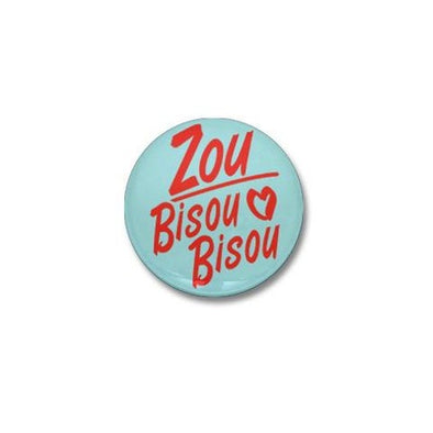 Zou Bisou Bisou Mini Button