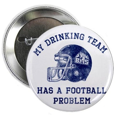 "Blue Mountain State Drinking Team 2.25"" Button"