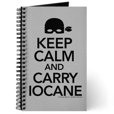 Keep Calm Carry Iocane Journal