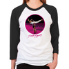 Dirty Dancing Swim Scene Women's Baseball T-Shirt