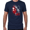 Saw Bear Trap Men's Fitted T-Shirt