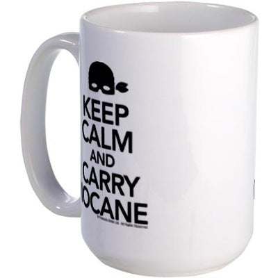 Keep Calm and Carry Iocane Large Mug