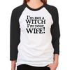 Witch Wife Unisex Baseball T-Shirt
