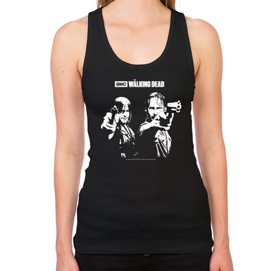Walking Dead Saints Women's Racerback Tank