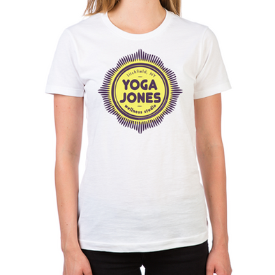 Yoga Jones Women's Fitted T-Shirt