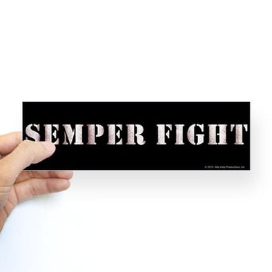 Semper Fight Bumper Sticker