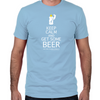 Keep Calm and Get Some Beer Fitted T-Shirt
