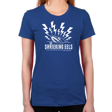 Shrieking Eel Women's Fitted T-Shirt