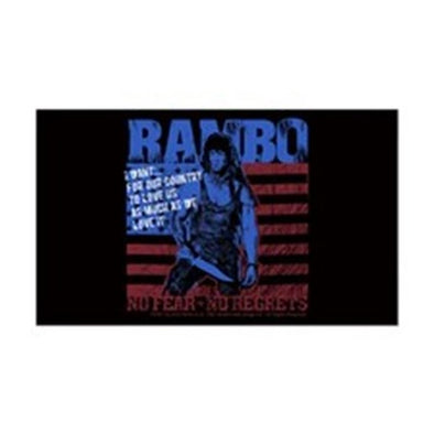 Rambo No Fear Sticker