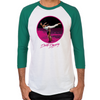 Dirty Dancing Swim Scene Men's Baseball T-Shirt