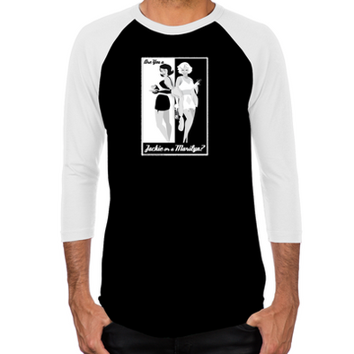 Jackie or Marilyn Men's Baseball T-Shirt