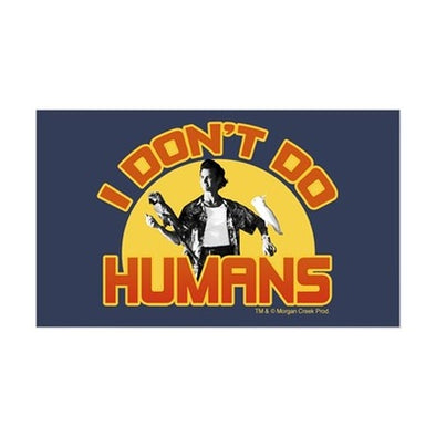 Ace Ventura I Don't Do Humans Sticker
