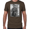 Glenn Silver Portrait Fitted T-Shirt