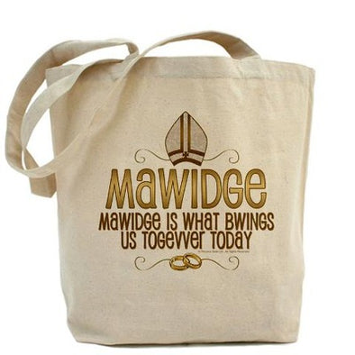 Mawidge Wedding Tote Bag