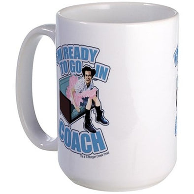 Ace Ventura Ready To Go In Coach Large Mug