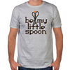 Be My Little Spoon Fitted T-Shirt
