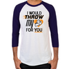 Throw My Pie for You Men's Baseball T-Shirt