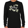 Wolf of Wall Street Fun Coupons Long Sleeve T-Shirt
