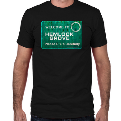 Welcome to Hemlock Grove Fitted T-Shirt