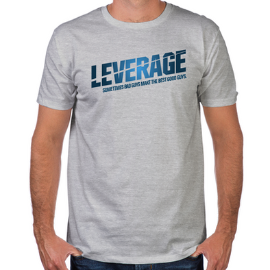 Leverage Logo Fitted T-shirt