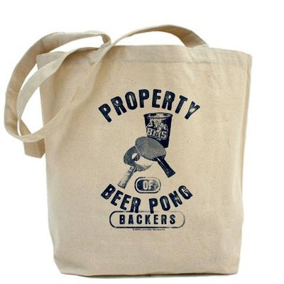 Beer Pong Blue Mountain State Tote Bag