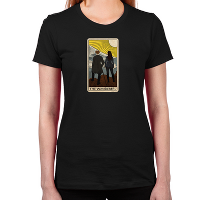 Lost Girl Wanderer Tarot Women's T-Shirt