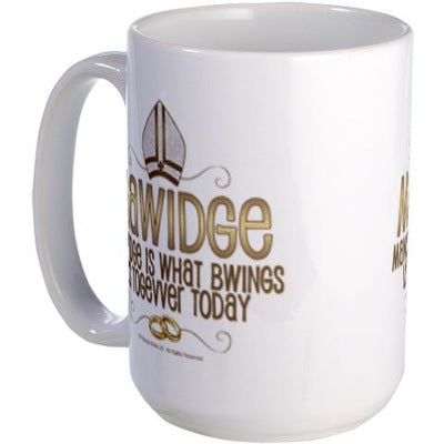 Mawidge Wedding Mug Large Mug