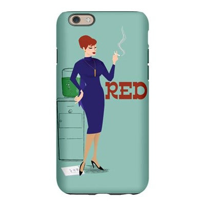 Mad Men Red iPhone 6 Slim Case