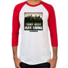 Fight the Dead, Fear the Living Men's Baseball T-Shirt