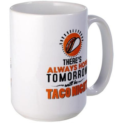 Taco Night Large Mug