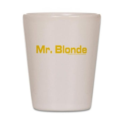 Mr. Blonde Shot Glass